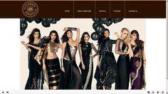 #Fashion websites #design by fsc www.stylemark.in/