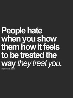 So true. Why can't we just all be nice to each other.