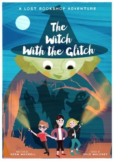Claim a free copy of The Witch With The Glitch