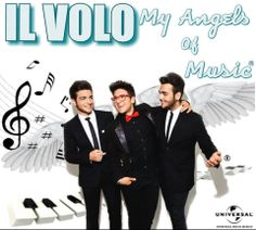 Logo Oficial  Il Volo My Angels Of Music Fan Club Mexico Universal Music Mexico