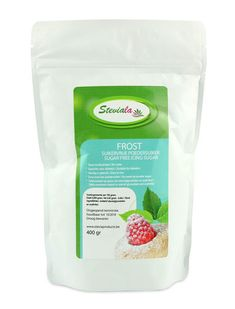 Steviala Frost poedersuiker 400 g Sugar Free Icing, Stevia, Frosting, Low Carb, Healthy Recipes, Cake, Sweet, Food, Ferrero Rocher