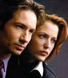 Mulder (David Duchovny) and Scully (Gillian Anderson) ~ The X-Files
