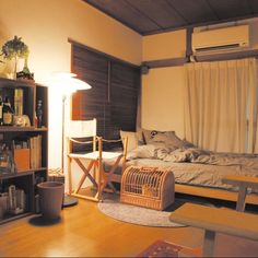 T's home's room photo, tags are Bedroom,アパート,魅力的 - RoomClip