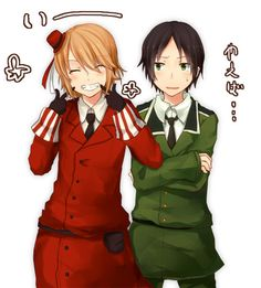 Romania and Bulgaria -Hetalia