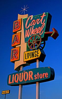 Cart Wheel Lounge/Bar neon sign in Great Falls, Montana Bedroom Wall Collage, Photo Wall Collage, Picture Wall, Picture Collages, Retro Wallpaper, Aesthetic Iphone Wallpaper, Aesthetic Wallpapers, Tumblr Iphone Wallpaper, Hipster Wallpaper