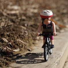 Playmobil cycle girl