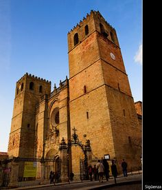Cathedral Siguenza; Guadalajara, Spain Running Of The Bulls, Pamplona, Iglesias, Place Of Worship, Gaudi, Oh The Places You'll Go, Madrid, Spain, Around The Worlds