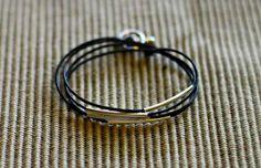 Tube Wrap Bracelet-simple for layering