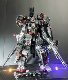 GUNDAM GUY: MG 1/100 RX-78-2 Gundam Heavyarms Custom - Custom Build
