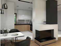 Projekt domu Reksio N+ 103,37 m2 - koszt budowy 180 tys. zł - EXTRADOM House Outside Design, House Design, Design Case, Home Fashion, Modern Farmhouse, Flat Screen, Floor Plans, Architecture, House Styles
