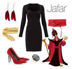 """Jafar"" by fandom-wardrobes ❤ liked on Polyvore featuring Nicole Miller, Cartier, Dune, OSCAR Bijoux and Ippolita"