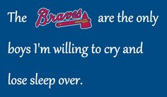 I created this for you, Braves fans.