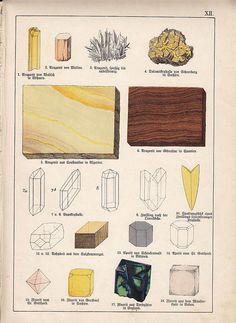 mineral illustration