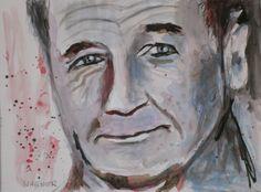 Bleistift, Kohle, Aquarell auf Papier Portraits, Painting, Art, Paper, Charcoal, Pencil, Random Stuff, Watercolor, Head Shots