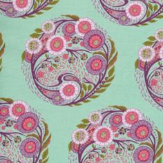 Designer: Tula Pink Collection: Parisville Print Name: Topiary in Sky