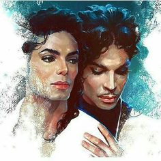 Art with Soul - Colors - Artist T. Johnson. -  Michael and Prince in heaven <3