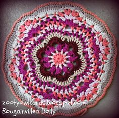 crochet doily  use this for rug pattern