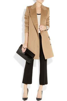 Fessing Camel Wool Coat (yes, please)