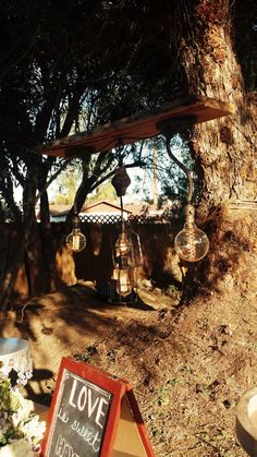 Rustic Backyard Anniversary Party For Liese Rich Chandelier Made By Bryon Napier