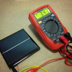 I've just tested my solar panel with different lights.  ...It will be part of my stratospheric micro satellite which will be send to the Near Space (30km above ground)  #electronicprojects #electronic #electricity #voltage #diy #fun #work #world #multimeter #workshop #tech #technology #space #nearspace #stratosphere #arduinoday #arduino #insta #photo #l4l by karol.electronic