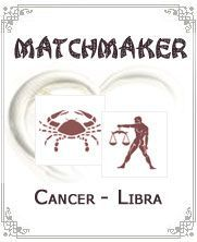 Generally, people born under air signs will find difficulty in dealing with those who were born under water sign. Such is the case of Cancer And Libra compatibility and - Click for more info