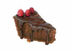 Chocolate Fudge Cake Art // Food Illustration por KendyllHillegas, $26.00