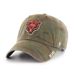 ef4c1115713e40 Chicago Bears Outrigger Clean Up Hat by '47 #ChicagoBears #Bears #DaBears  Chicago