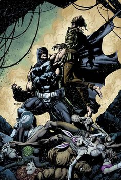 FOREVER EVIL: ARKHAM WAR #6 Written by PETER J. TOMASI Art by SCOT EATON and JAIME MENDOZA Cover by JASON FABOK