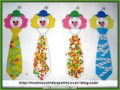 Clown Crafts, Circus Crafts, Preschool Crafts, Crafts For Kids, Theme Carnaval, Le Clown, Circus Theme, Mardi Gras, Activities For Kids