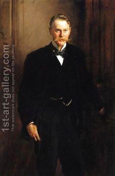 George Frederick Mc Corquodale by John Singer Sargent