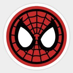 New Sticker, Logo Sticker, Laptop Stickers, Cute Stickers, Spiderman Stickers, Marvel Logo, Marvel Comics, Cornhole Designs, Marvel Paintings