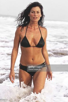Portrait of Carre Otis at Las Alamandas Resort, Quemaro, Mexico Get premium, high resolution news photos at Getty Images Mädchen In Bikinis, Famous Models, Beauty Shots, Girls Image, Fashion Images, Swimsuits, Swimwear, Female Models, Bikini Girls