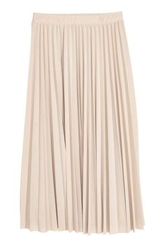 pleated skirt NEUTRA