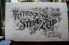 Steve Zap – Tattoo Artist « David Smith – Traditional Ornamental Glass Artist