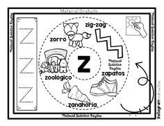 Home Learning, Toddler Learning, Learning Spanish, Abc Worksheets, Kindergarten, Homeschool, Symbols, Letters, Instagram