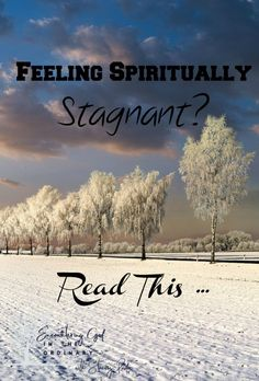 A Surprising Reason You Might Feel Spiritually Stagnant - Stacey Pardoe