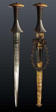 SUDANESE arm dagger, Sudan, (43,5 cm)