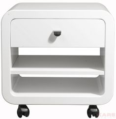 White Club Rollcontainer