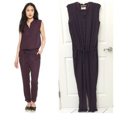 Anthropologie Silky Jumpsuit Anthropologie Maison Scotch Silky Jumpsuit, Size S, excellent like new condition  Anthropologie Pants Jumpsuits & Rompers