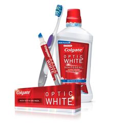 Colgate® Optic White® Whitening Toothpaste, Mouthwash and Toothbrushes #Colgate #OpticWhite #WeddingMonth http://bit.ly/1lc9DHM