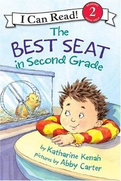 The Best Seat in Second Grade (I Can Read Book 2) by Katharine Kenah, http://www.amazon.com/dp/0060007362/ref=cm_sw_r_pi_dp_34AUpb1BQWHND
