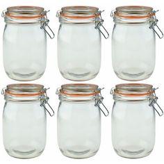 1000 images about glass jar container on pinterest. Black Bedroom Furniture Sets. Home Design Ideas