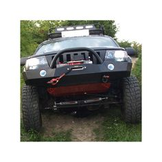 Zderzak stalowy pod wyciągarkę z płytą osłonową Jeep