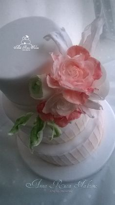 wedding topper wafer papier...