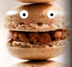 Seeking Sweetness in Everyday Life - CakeSpy - Walnut Macarons with Maple Bacon Bourbon FillingRecipe