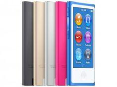 """iPod Nano Apple 16GB - Tela Multi-Touch 2.5"""" Acelerômetro com as melhores condições você encontra no Magazine Ciabella. Confira!"""