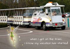 I get excited just thinking about it!!! #WDW #Tram #Disney