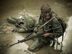 Vietnam War Pictures in Color | MACVSOG elite soldier in the Vietnam war