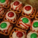 101 Days of Christmas: Peppermint Chocolate Pretzel Treats