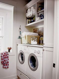 Οργάνωση του χώρου του πλυντηρίου